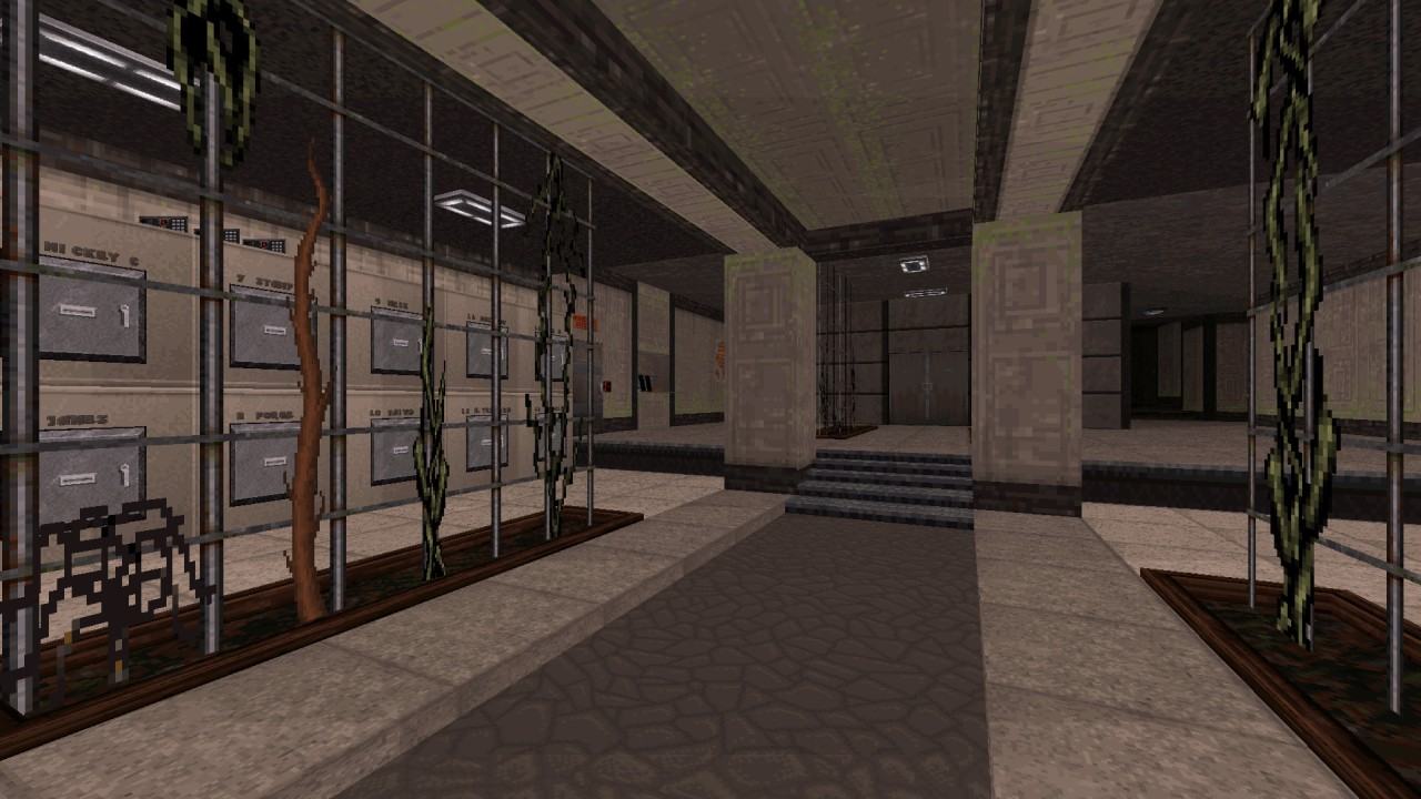 Duke Hard Level 01: Lobby - by MetHy