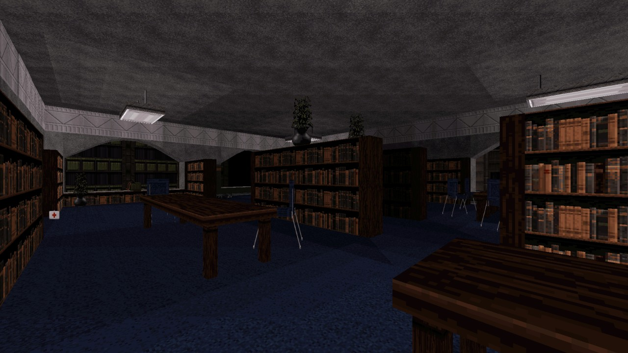 Duke Hard Level 12: Poormann's Library - by High Treason