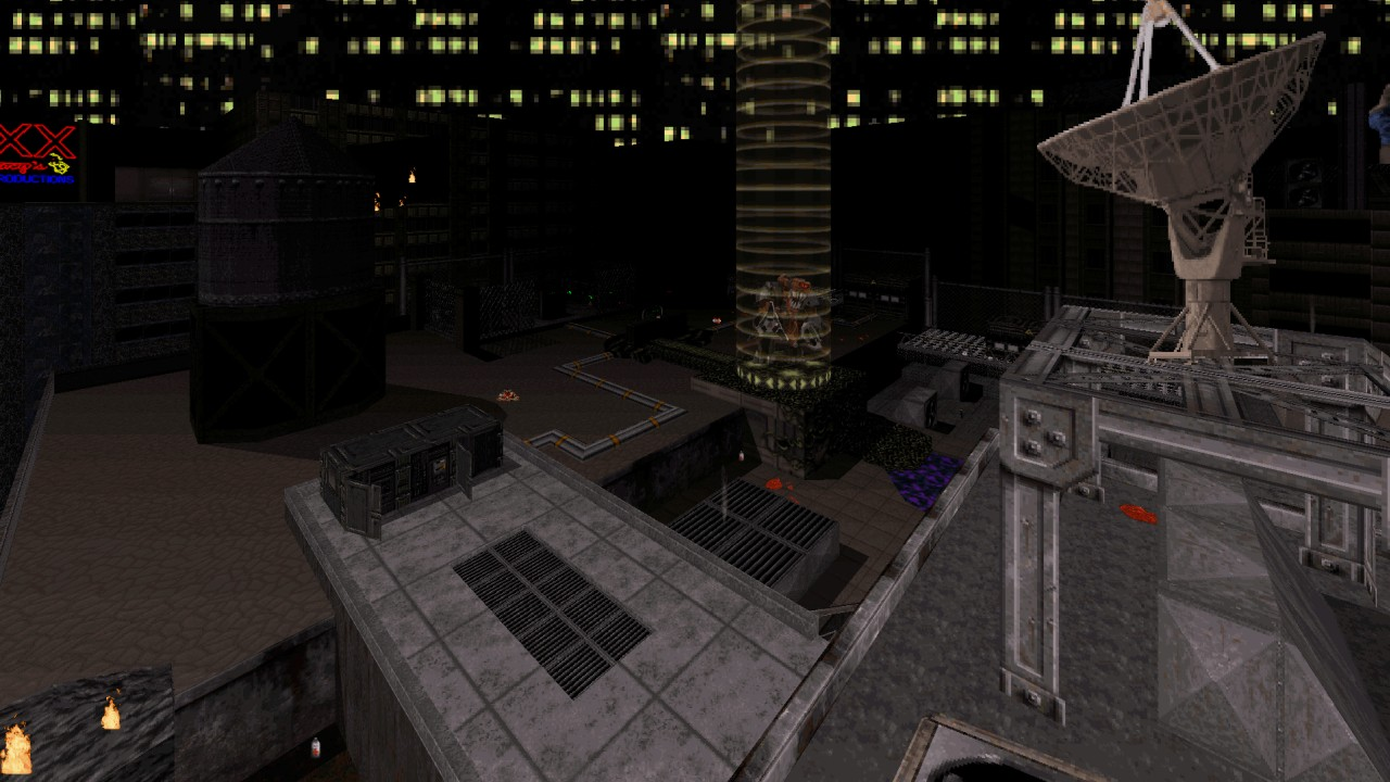 Duke Hard Level 16: Rooftop - by MetHy